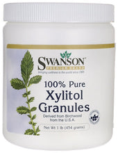 Load image into Gallery viewer, Swanson Premium 100% Pure Non-GMO Xylitol Granules 454gm
