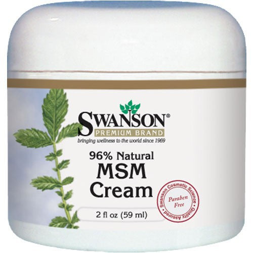 Swanson Premium MSM Cream, 96% Natural - Vitamin Supplements