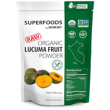 Load image into Gallery viewer, MRM, RAW Organic Lucuma Fruit Powder, 8.5 oz (240 g)