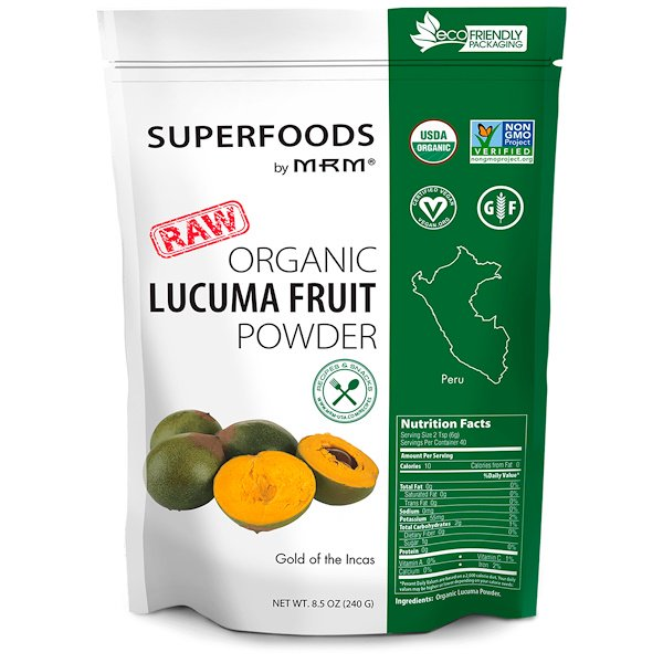 MRM, RAW Organic Lucuma Fruit Powder, 8.5 oz (240 g)
