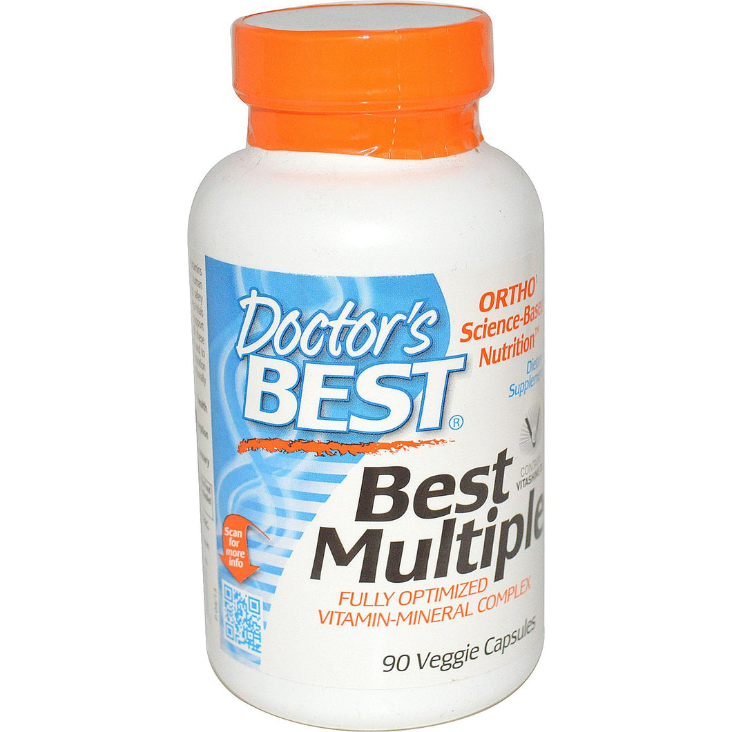 Doctor's Best Best Multiple Fully Optimised Vitamin-Mineral Complex 90 Veggie Caps