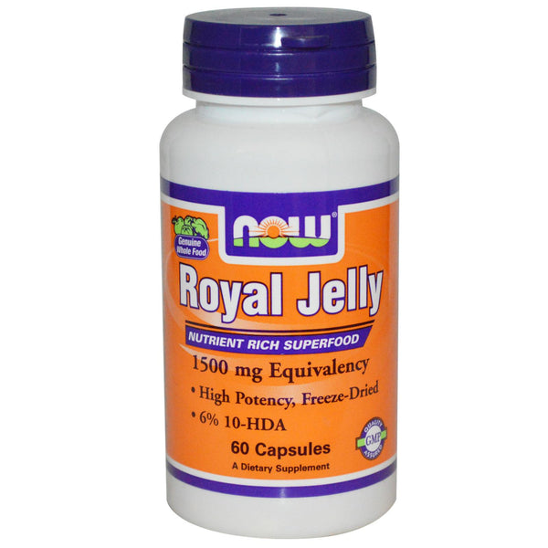 Now Foods, Royal Jelly, 60 Capsules
