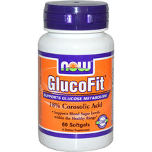 Load image into Gallery viewer, Now Foods, GlucoFit, 60 Softgels ... VOLUME DISCOUNT