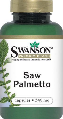 Swanson Premium Saw Palmetto 540mg 100 Capsules - Dietary Supplement