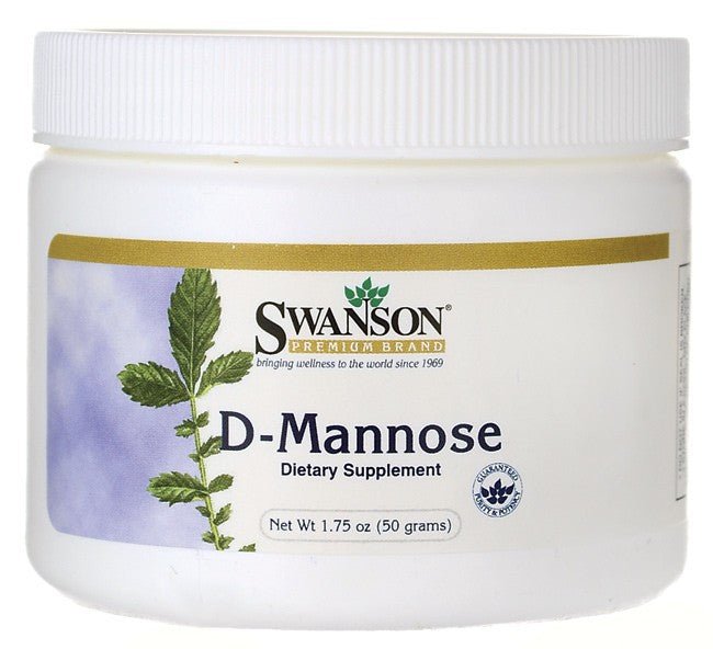 Swanson Premium, D-Mannose Powder 1.75 Oz (50gm)