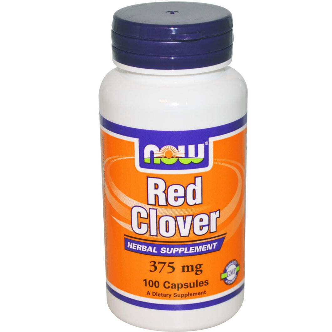 Now Foods, Red Clover, 375mg, 100 Capsules