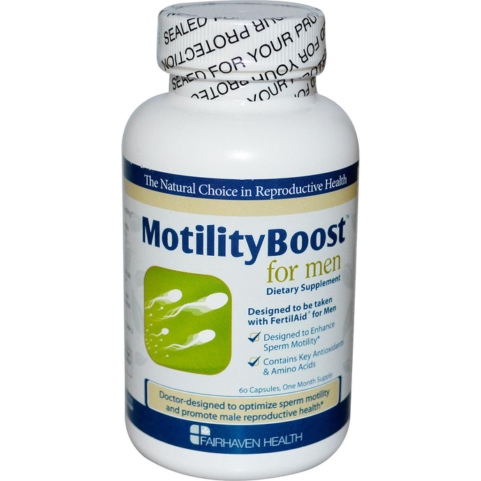 Fairhaven Health Motility Boost For Men 60 Capsules