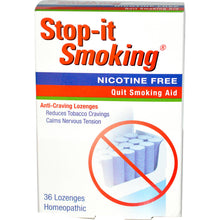 Load image into Gallery viewer, Natra Bio, Stop-It Smoking, 36 Lozenges