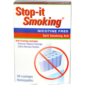 Natra Bio, Stop-It Smoking, 36 Lozenges