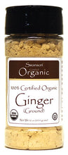 Load image into Gallery viewer, Swanson Organics 100% Certified Organic Ginger Ground  45.4g 1.6 oz