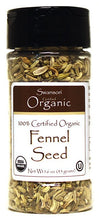 Load image into Gallery viewer, Swanson Organics 100% Certfied Organic Fennel Seed 45g 1.6 oz