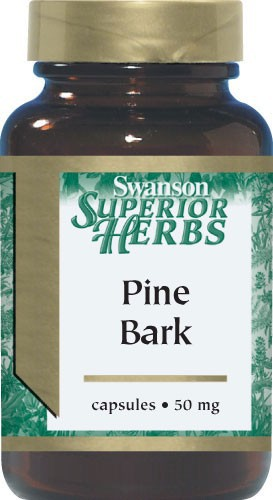 Swanson Superior Herbs Pine Bark Extract 50mg 100 Caps