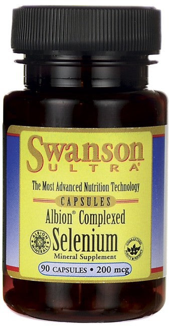 Swanson Ultra Albion Complexed Selenium 90 Caps - Mineral Supplement