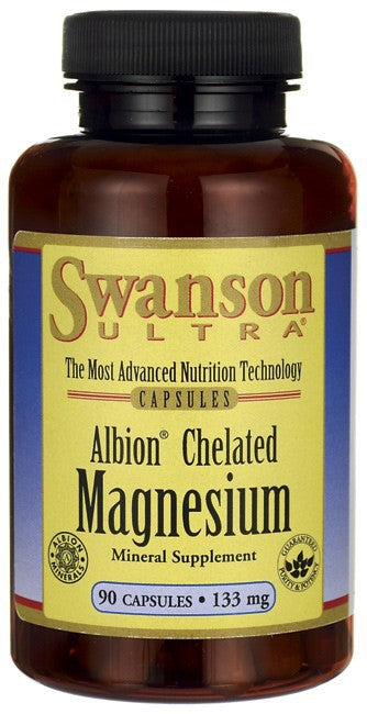 Swanson Ultra Albion Chelated Magnesium Glycinate 133mg 90 Caps