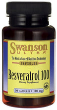 Load image into Gallery viewer, Swanson Ultra Resveratrol 100 100mg 30 Capsules - Dietary Supplement