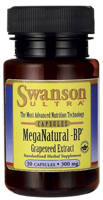 Swanson Ultra MegaNatural-BP Grapeseed Extract 30 Caps
