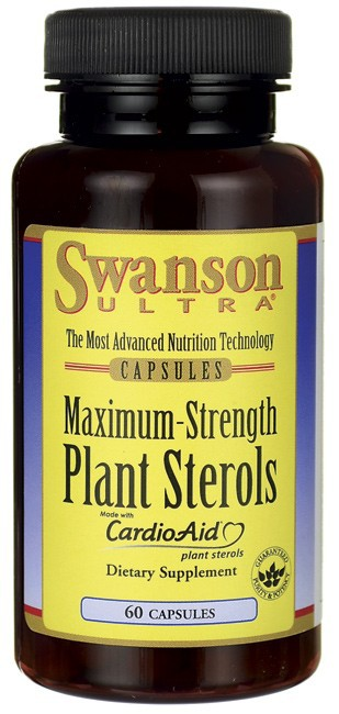 Swanson Ultra Maximum Strength Plant Sterols CardioAid 60 Caps
