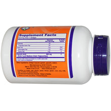 Load image into Gallery viewer, Now Foods Caprylic Acid 600mg 100 Softgels - Dietary Supplement