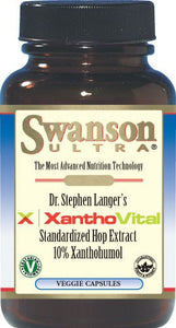 Swanson Ultra XanthoVital Standardized Hop Extract 50mg 90 Veg Caps