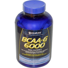 Load image into Gallery viewer, MRM, BCAA, + G 6000, 150 Capsules