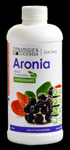 Nature's Goodness, Aronia (Black Chokeberry) Juice, 1 Litre