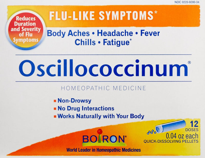 Boiron Oscillococcinum 12 Doses 0.04 oz Each - Health Supplement