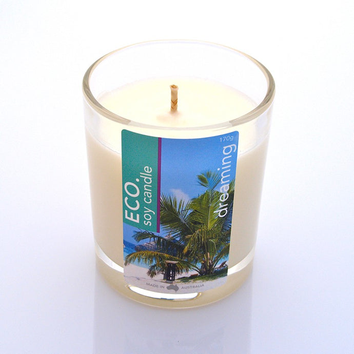 ECO., Soy Candle, Dreaming, 50 Hrs