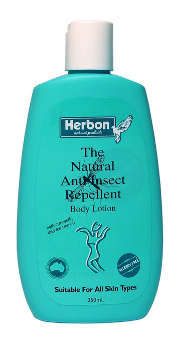 Herbon Natural Products, Natural Anti Insect Repellant Lotion, 250 ml