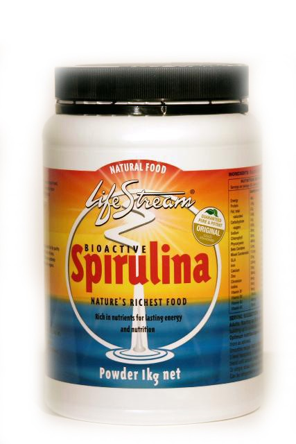 LifeStream Bioactive Spirulina Powder 1 Kg