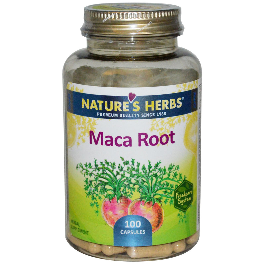 Nature's Herbs, Maca Root, 100 Capsules ...VOLUME DISCOUNT