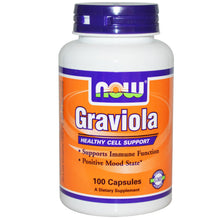 Load image into Gallery viewer, Now Foods Graviola 100 Capsules - Dietary Supplement