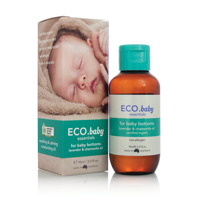 ECO., Baby Essentials, Bottom Oil, Certified Organic, 95 ml