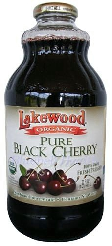 Lakewood Pure Black Cherry Juice Organic 946 ml - Superfoods