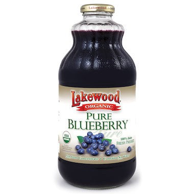 Lakewood Pure Blueberry Juice Organic 946 ml - Superfoods