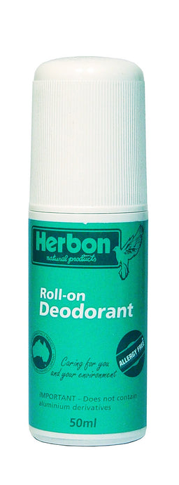Herbon Natural Products, Roll-On Deodorant, 50 ml