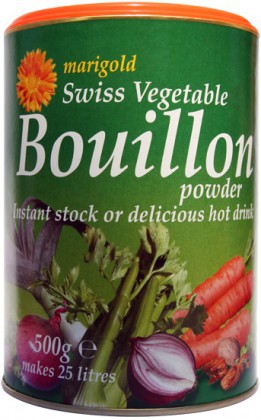 Marigold Health Foods, Marigold Swiss, Vegetable Bouillon Powder, 500g