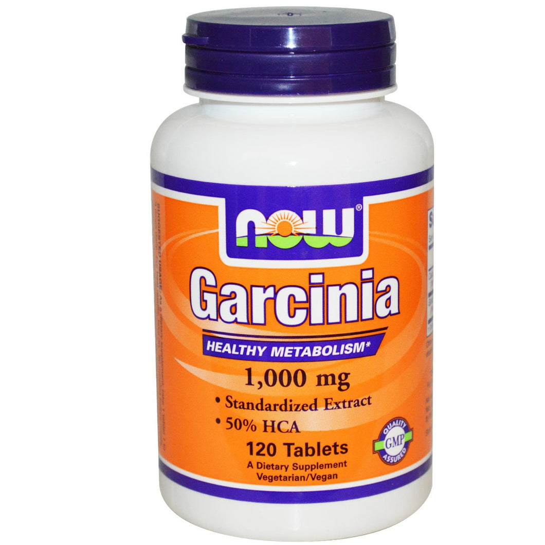Now Foods Garcinia 1000 mg 120 Tablets - Dietary Supplement
