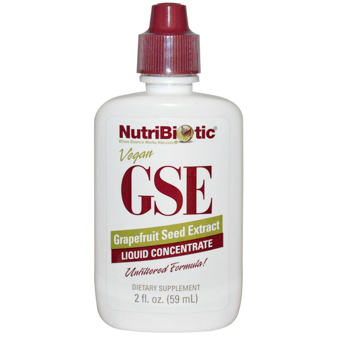 Nutribiotic GSE Liquid Concentrate Grapefruit Seed Extract 59 ml 2 fl oz