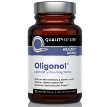 Load image into Gallery viewer, Quality of Life Labs Oligonol 100mg 30 Veggie Caps