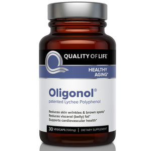 Quality of Life Labs Oligonol 100mg 30 Veggie Caps