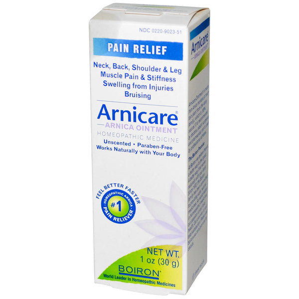 Boiron, Arnicare, Arnica Ointment, Pain Relief, Unscented, 30 g, 1 oz