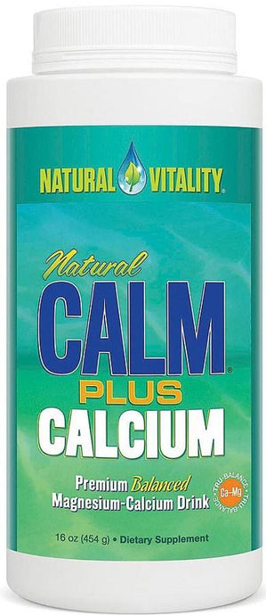Natural Vitality Natural Calm Plus Calcium 454 g - Dietary Supplement