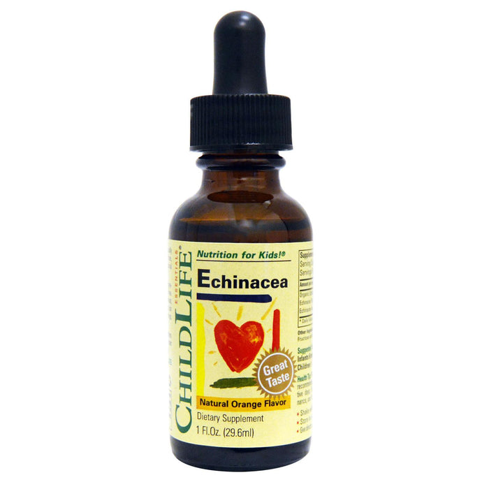 ChildLife, Echinacea, Natural Orange Flavour, 29.6 ml