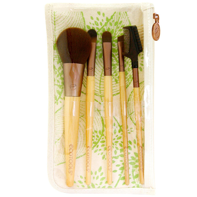 Eco Tools, Bamboo, 6 Piece Brush Set