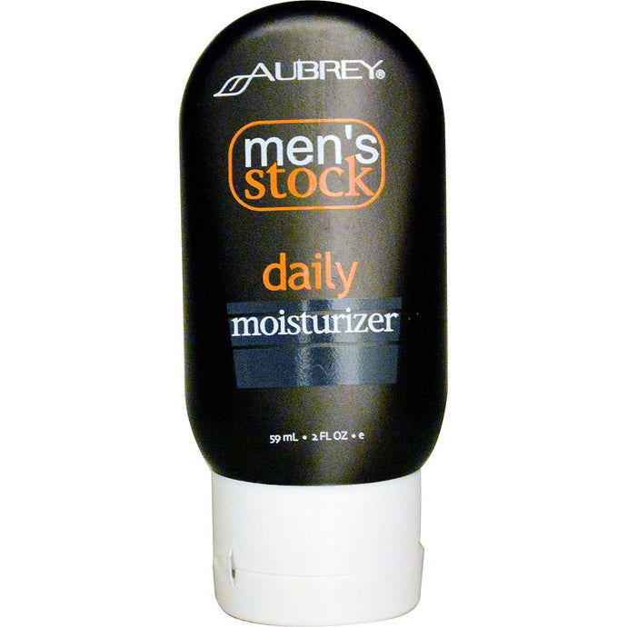 Aubrey Organics, Men's stock, Daily Moisturiser, 59 ml 2 fl oz