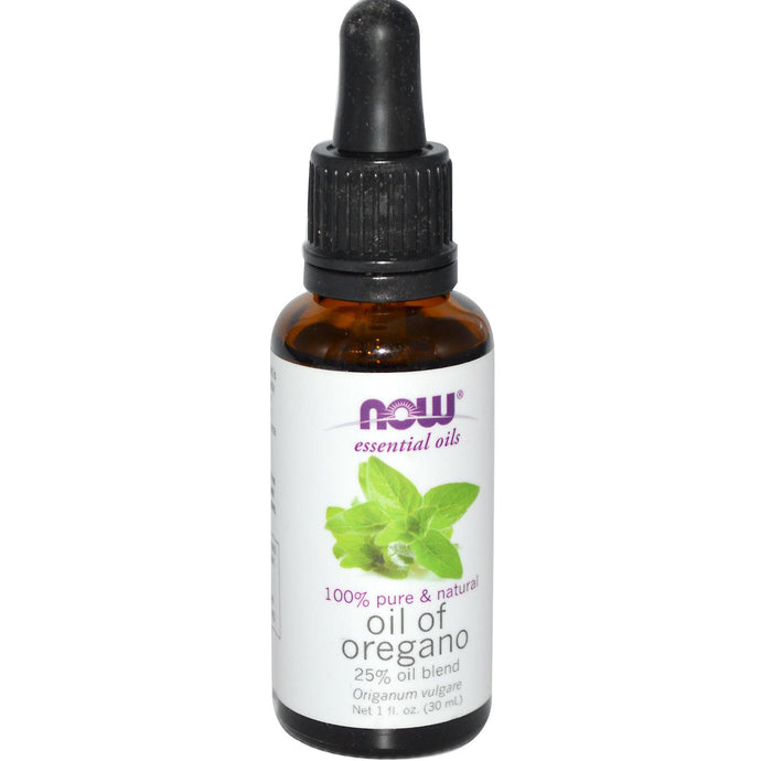 Now Foods Essential Oils Oil of Oregano 30 ml 1 fl oz