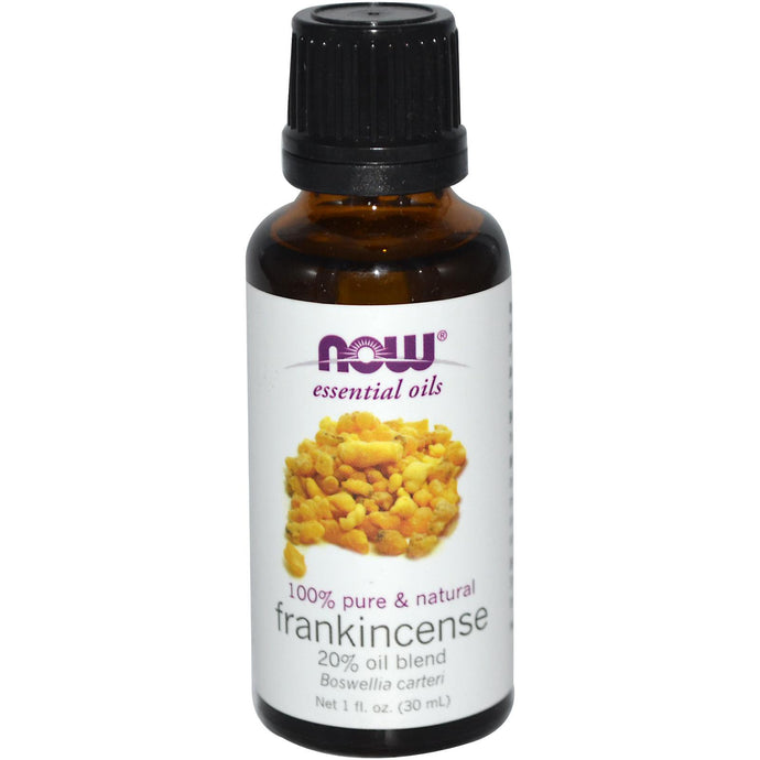 Now Foods, Essential Oils, Frankincense 100% pure Oil Blend, 30 ml