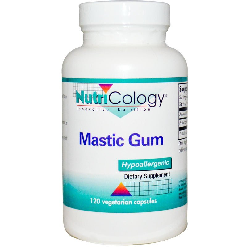 Nutricology Mastic Gum 120 Veggie Capsules  - Dietary Supplement