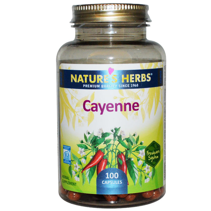 Nature's Herbs, Cayenne, 100 Capsules ... VOLUME DISCOUNT