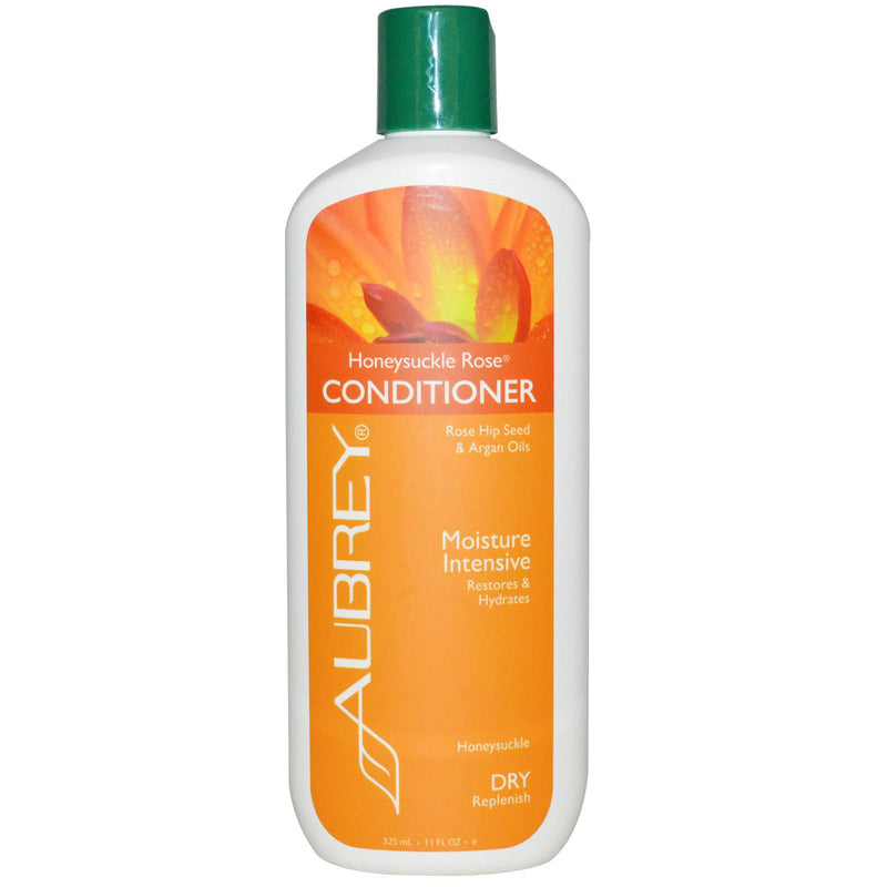 Aubrey Organics, Honeysuckle Rose Conditioner, Moisture Intensive, Dry, 325 ml